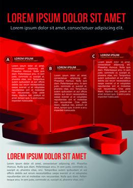 vector templates modern business design graphics