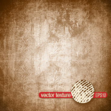 vector texture grunge retro background set