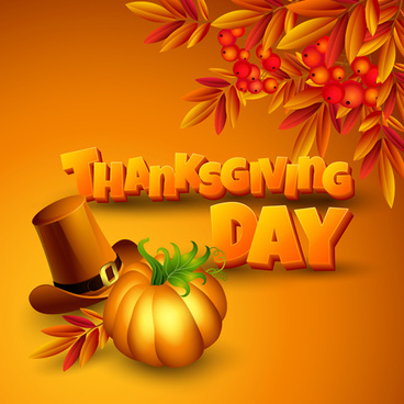 vector thanksgiving day art background