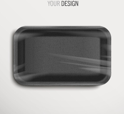 vector tray design template