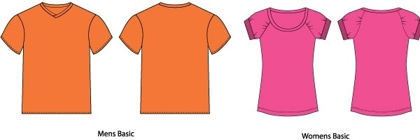 T Shirt Templates | T Shirt Template Eps Free Vector Download 186 159 Free Vector For