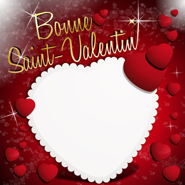 vector valentine day illustration collection