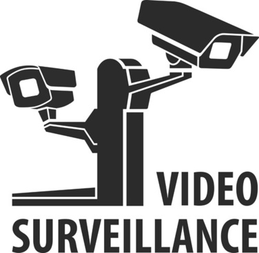 vector video surveillance design elements