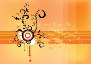 Vector Wallpaper Scroll Illustration Adobe Photoshop EPS