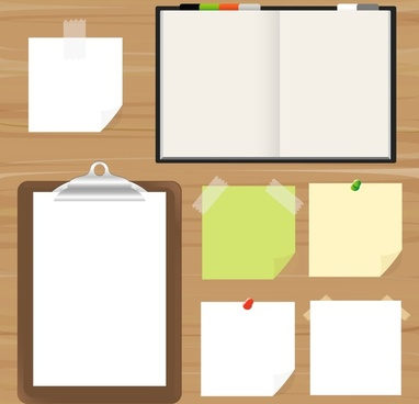 notes tools templates colored modern sketch