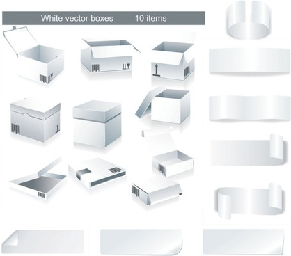 vector white box u0026amp tape