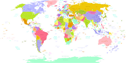 World map free vector download 3586 free vector for commercial vector world map design graphics set gumiabroncs Gallery