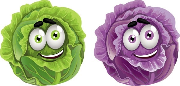 vegetable cartoon image 03 vector