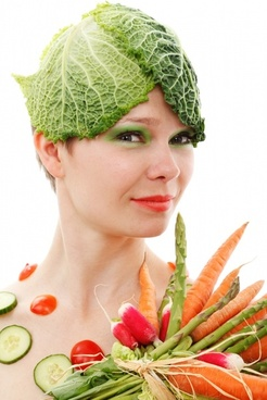 vegetable girl