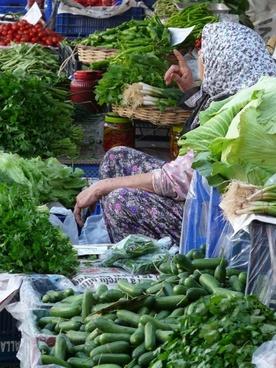 vegetable market gemuesehaendlerin market