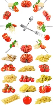 vegetables and pasta highdefinition picture