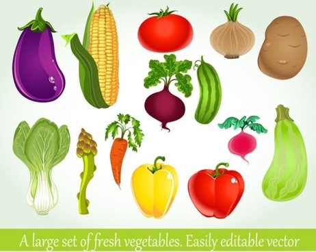 vegetables background 04 vector