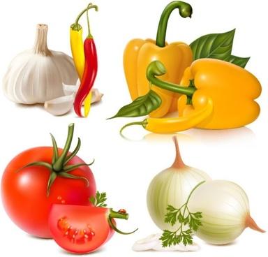 vegetables image 01 vector