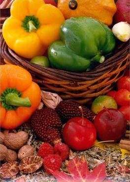 vegetables paprika colorful