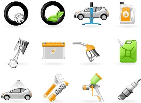 vehicle maintenance icon vector