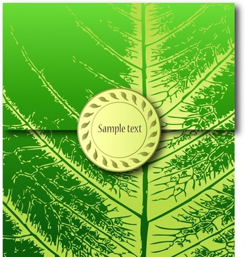 sealed envelope template leaf vein decor 3d sketch