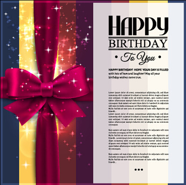 3d Free Download Happy Birthday Card Free Vector Download 18394