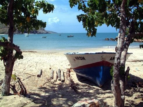 venezuela boat sea