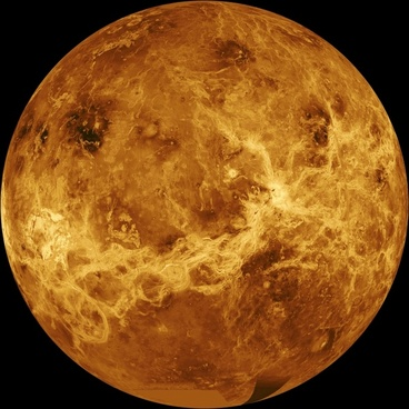venus surface hot