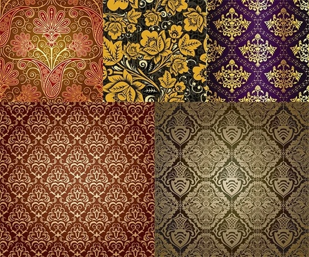 very fine background pattern vector
