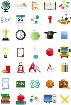 very good for schools to use the icon vector