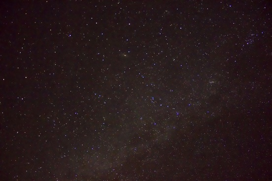 very starry sky in ozark national scenic riverways missouri