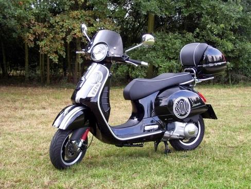 vespa gts 300 cycle motorcycle