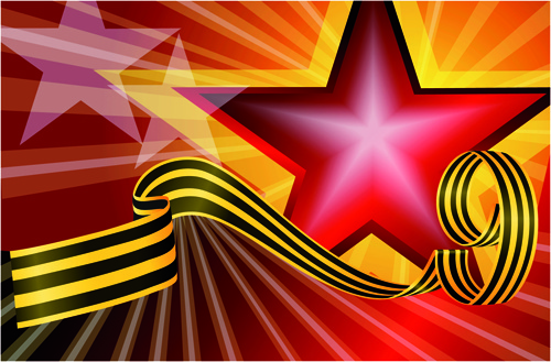 victory day 9 may design vector graphics