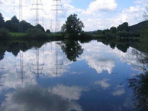 victory mirroring nature