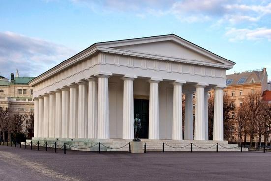 vienna austria temple of theseus