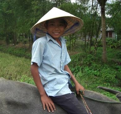 vietnam boy smiling