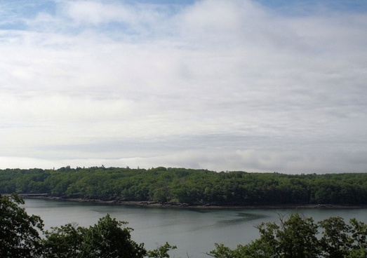 view across