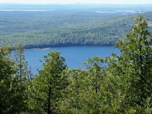 view of eagle lake