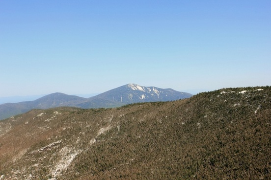 view of other mountains from cascade in the adirondack mountains new york