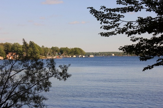 view of the other shore at wellesley island state park new york