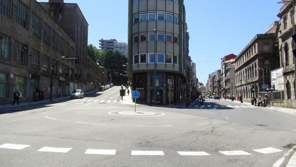 vigo city paseo alfonso urban landscape
