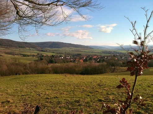 village pasture hill