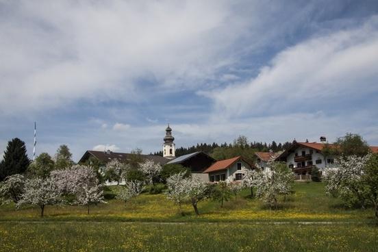 village spring baroque