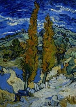 vincent van gogh landscape painting