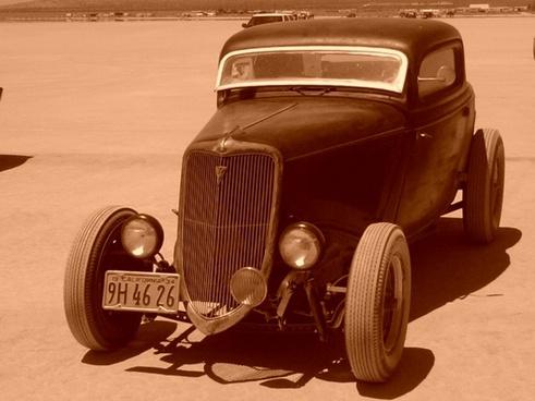 vintage 1934 ford racer