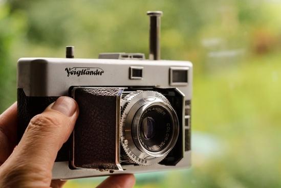 vintage analog voigtlander vitessa