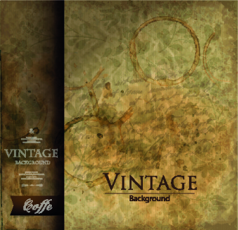 vintage and retro backgrounds design vector