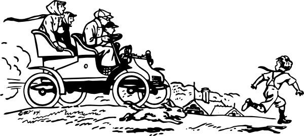 Vintage Automobile clip art