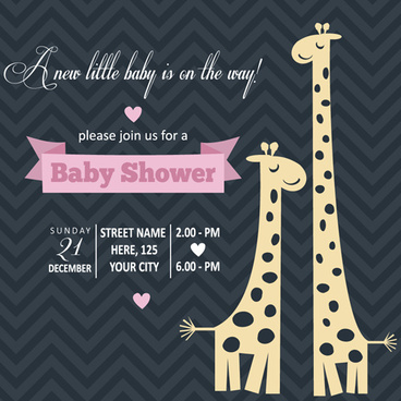 Baby shower invitation cards free vector download 13676 free vintage baby shower invitation cards vector stopboris Images