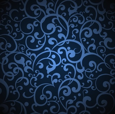 vintage blue background illustration vector graphic