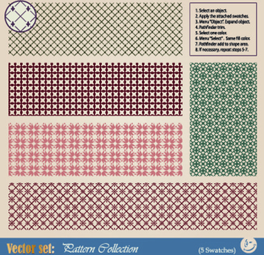 vintage border pattern design vector