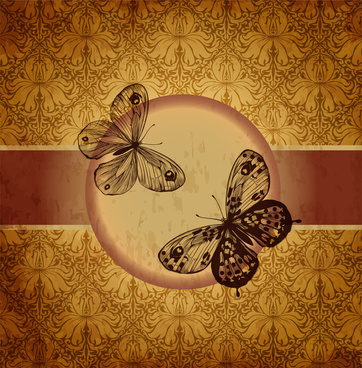 vintage butterfly decor