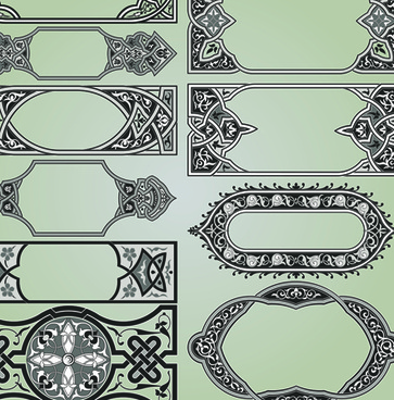 Vector islamic borders frames free vector download (8,572 Free ...
