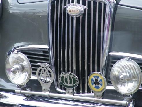 vintage car grille