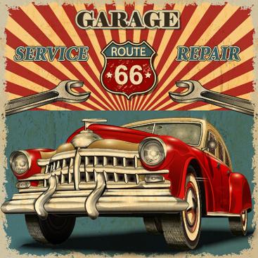 Vector Vintage Car Logo Free Vector Download 77 116 Free Vector